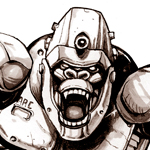 Apebot & Virus (Hero/Villains)