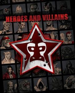Heroes & Villains-ARC